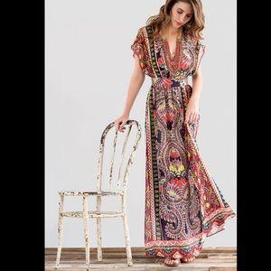 Harper FALL Maxi Dress francesca's collections